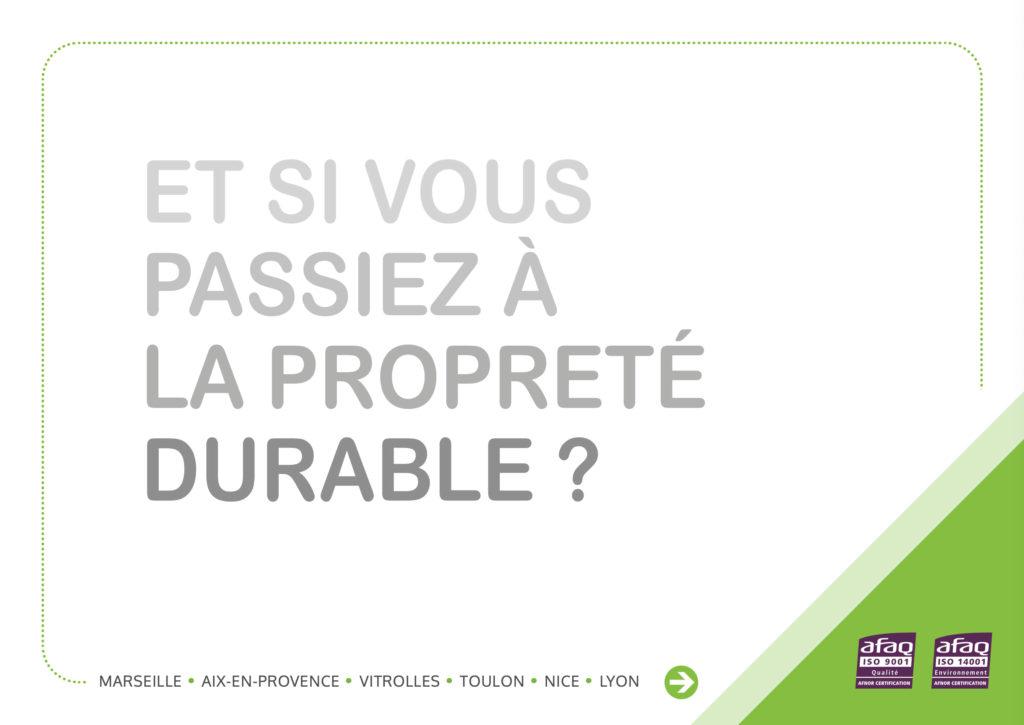 Brochure commerciale Proclair - Société de nettoyage